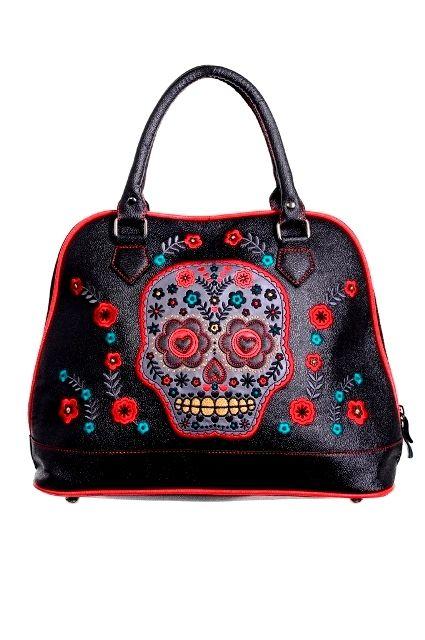 Mexican Skull-laukku - LAUKUT - Underground Store & Piercing Studio
