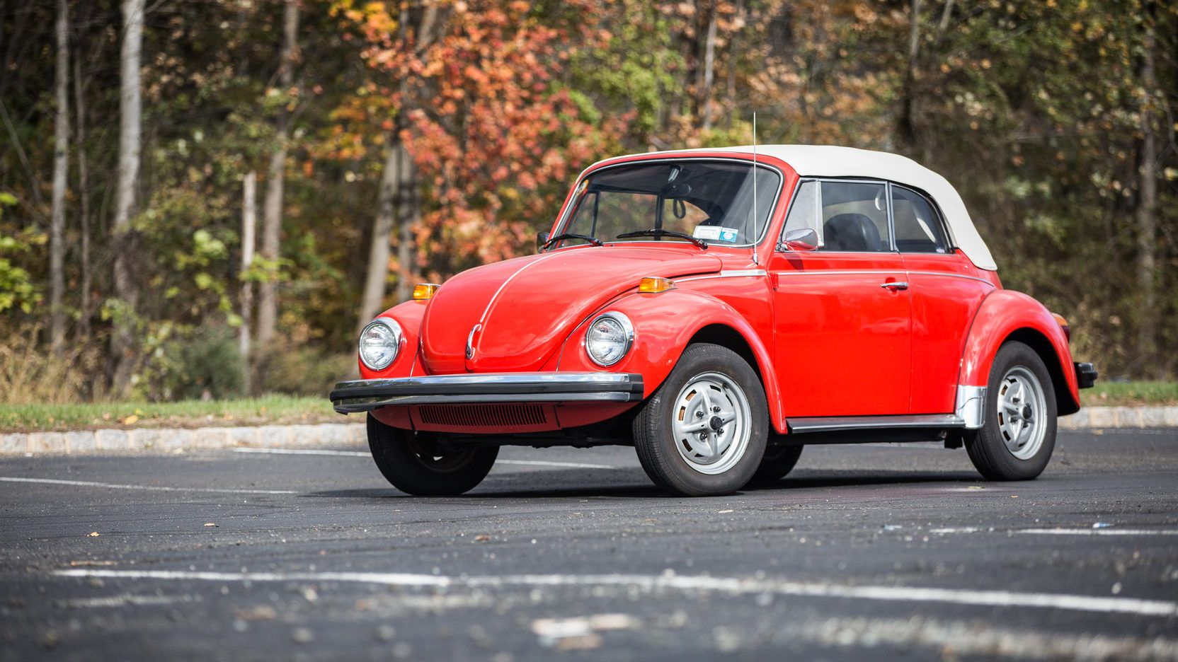 1979 Volkswagen Super Beetle Convertible presented as Lot
