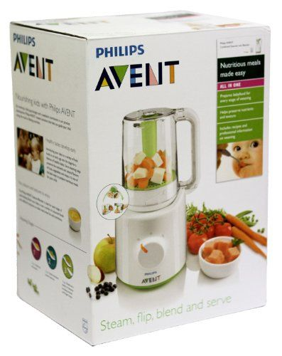 Philips Avent Scf87021 Combined Baby Food Steamer And