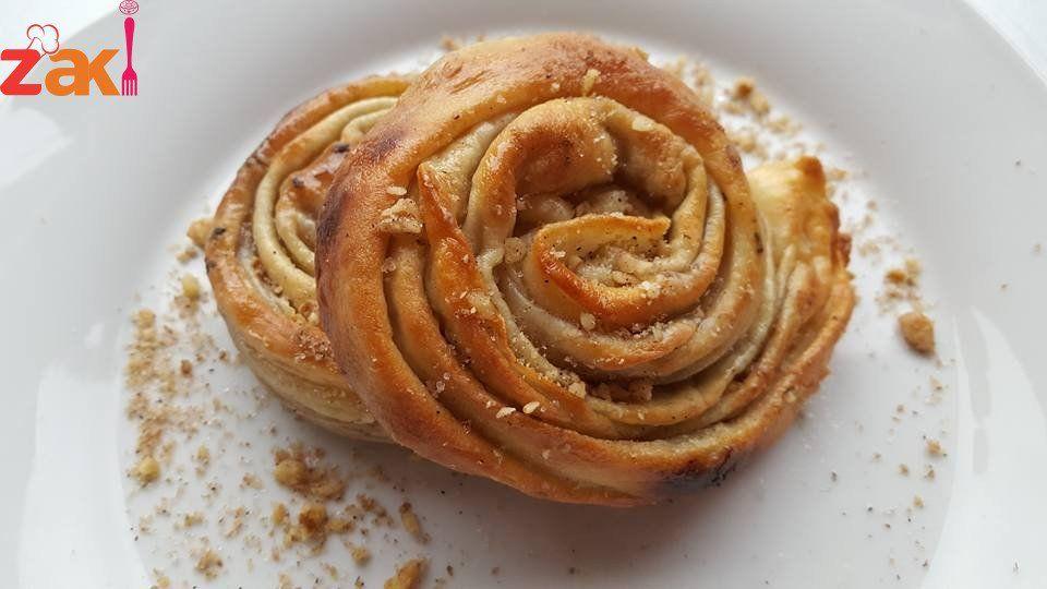مطبق فلسطيني محشي بالجوز خطوة بخطوة شجعوني يا جماعة زاكي Food Sweet Pastries Best Dishes