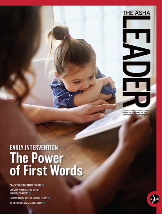Our Role in Early IdentificationCommunication difficulties are among the most widely reported developmental delays in young children. Here's how we can get more involved in early identification. | ASHA News Leader | ASHA Publications