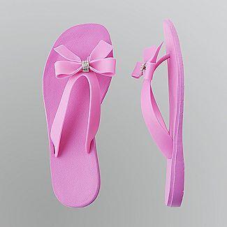 05eba140d5863 Studio S. Women s Jeweled Bow Flip-Flops