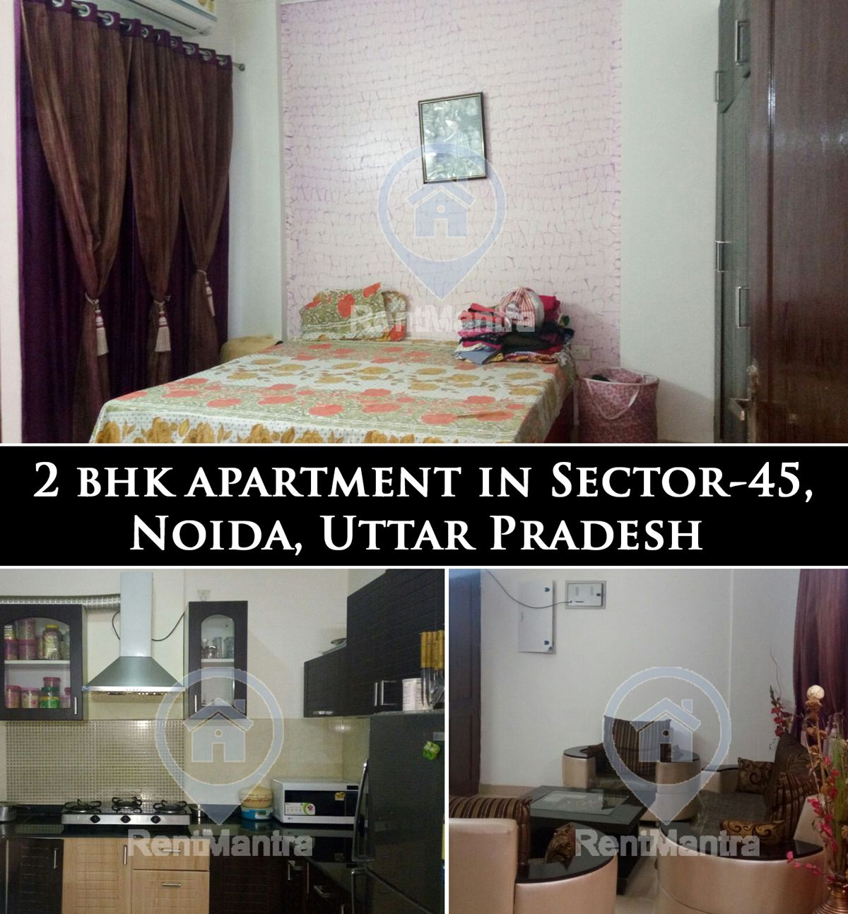 PROPERTY OF THE WEEK: 2 BHK Apartment in Sector-45, Noida, Uttar Pradesh(Broker Free). Includes Facilities like Cupboards, Modular kitchen and Much More. For Any Enquiry Give Us a Missed Call @ 070787-70787 Or Visit: www.rentmantra.com #2bhk #apartmentforrent #sector45 #Noida #rentmantra #brokerfree