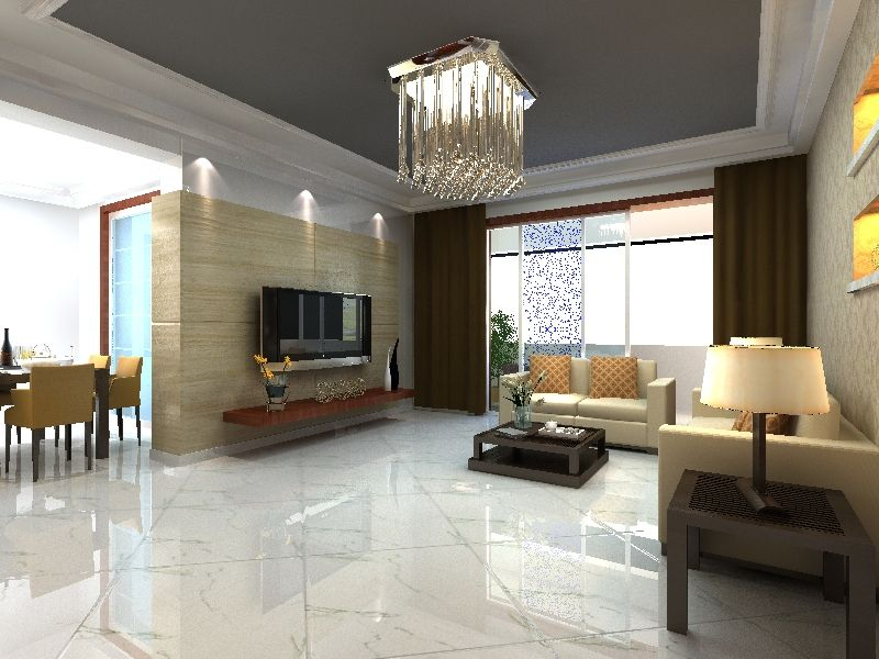 Hs615gn Manufacture Double Charged Porcelain Polished Tiles ...