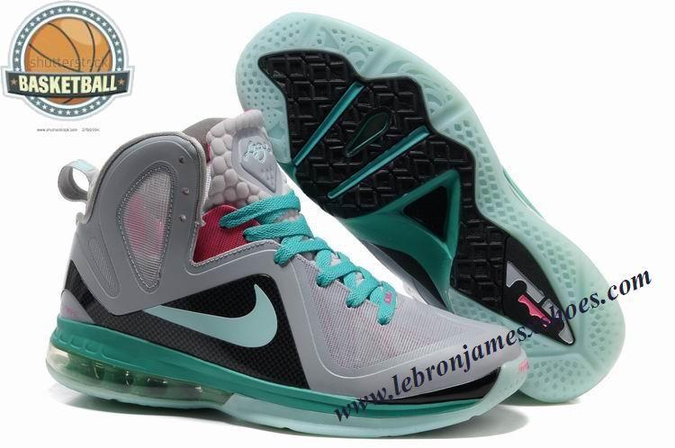 57304e5793d5 Nike Lebron 9 P.S. Elite Grey Blue
