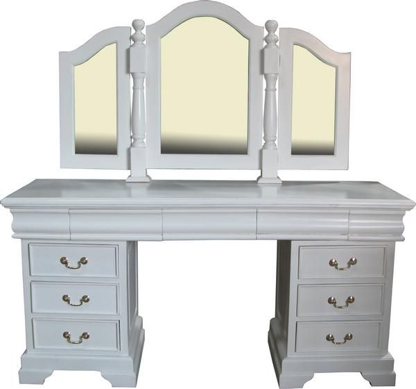 Best Solid Mahogany Sleigh Dressing Table By Lock Stock And 640 x 480