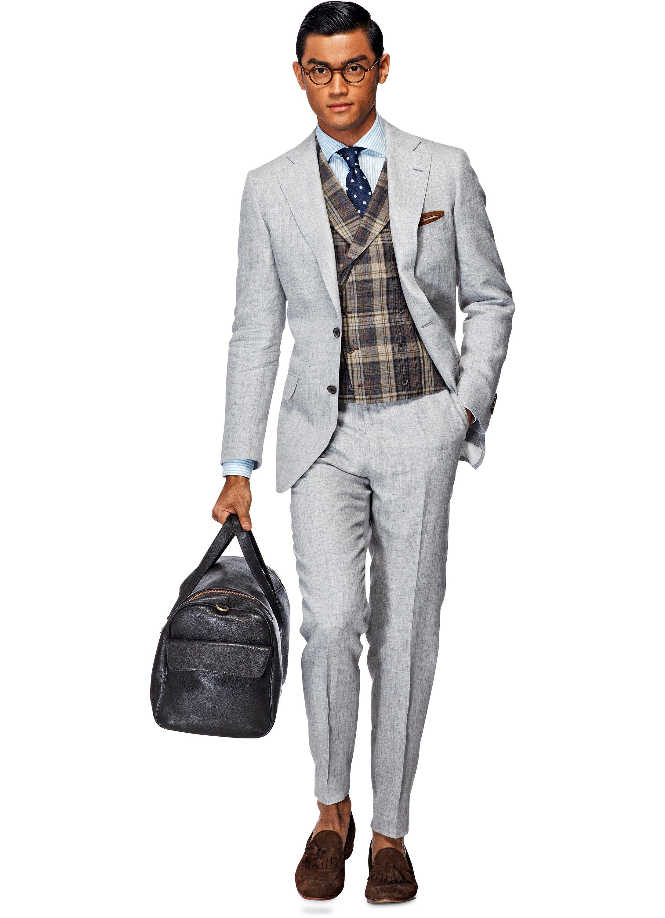 wool shop suit texture light on canali for com crosshatch milano gray men pin with
