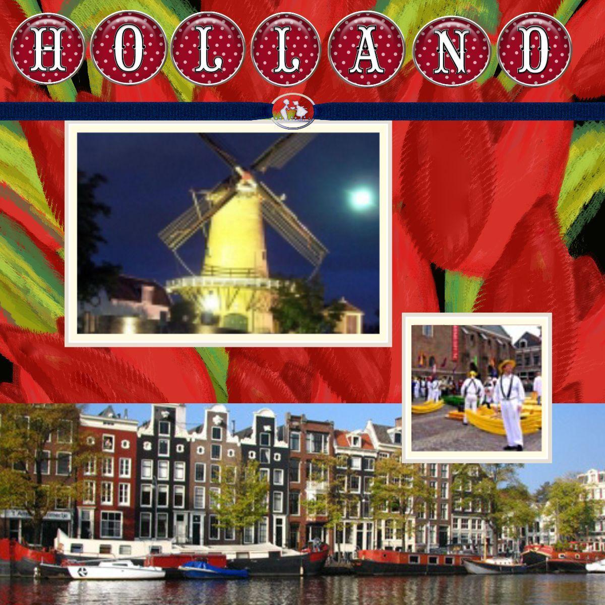 Holland View Digital Scrapbooking At Scrapbook Flair Vacation Scrapbook Cruise Scrapbook Scrapbook Printing