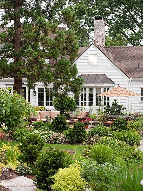 10 Ways To Create A Backyard Getaway Backyard Landscaping Designs Backyard Garden Landscape Backyard