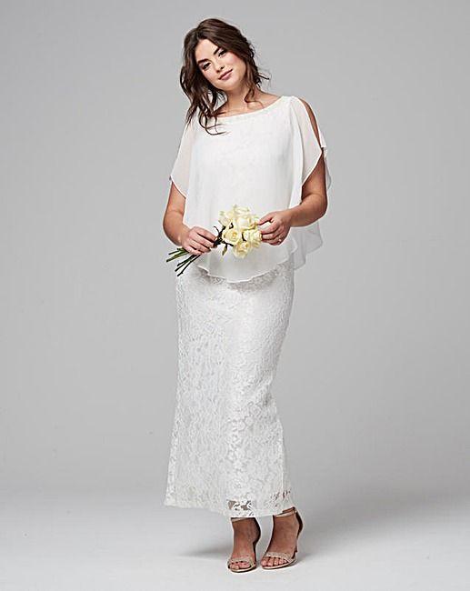 6e4d913d52a Joanna Hope Lace Maxi Dress With Overlay