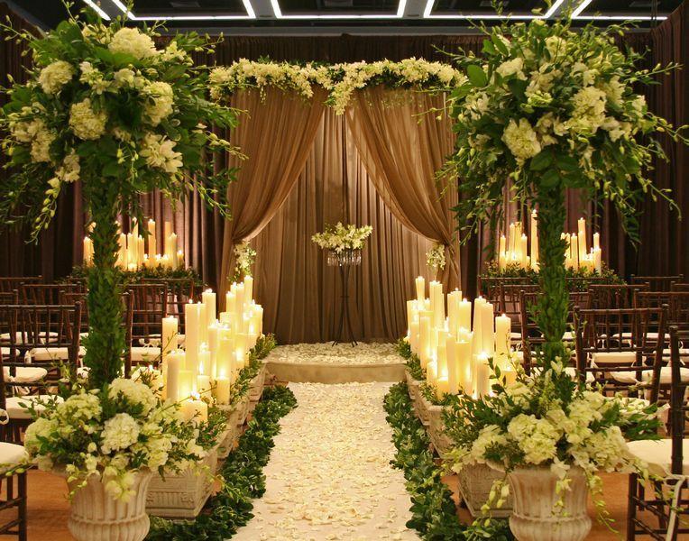 Photo via lush florals and formal wedding ideas weddingwire indoor garden wedding receptionchurch junglespirit Gallery
