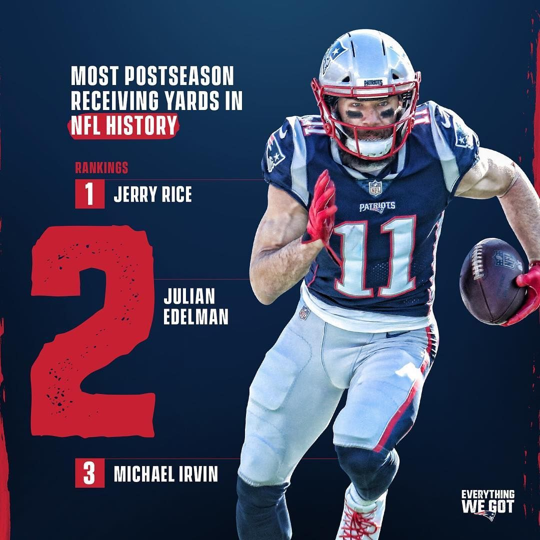62 7k Likes 463 Comments New England Patriots Patriots On Instagram Edelman11 Is Very Nfl History New England Patriots New England Patriots Football