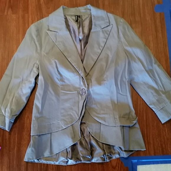 Like new blazer size medium Sorry a little wrinkled ambition Jackets & Coats Blazers
