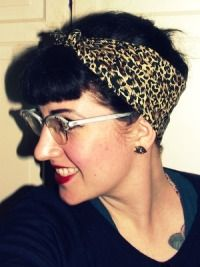 Rockabilly Bandana Tutorial Headbands For Short Hair Rockabilly Hair Bandana Hairstyles Short
