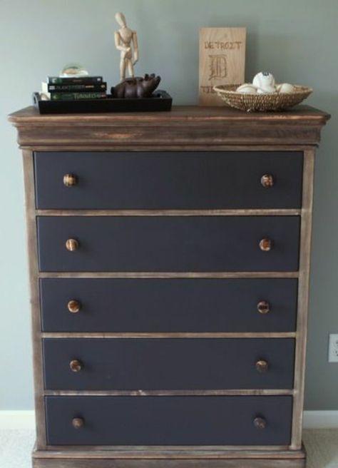 Alte Möbel restaurieren - antike Möbel neu gestalten Pinterest - designer kommoden aus holz antike
