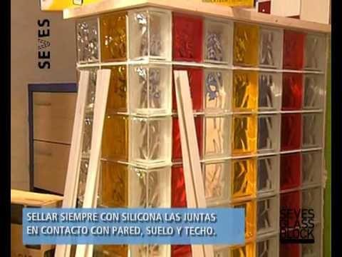 C mo montar una pared de bloques de vidrio leroy merlin - Colocacion de bloques de vidrio ...