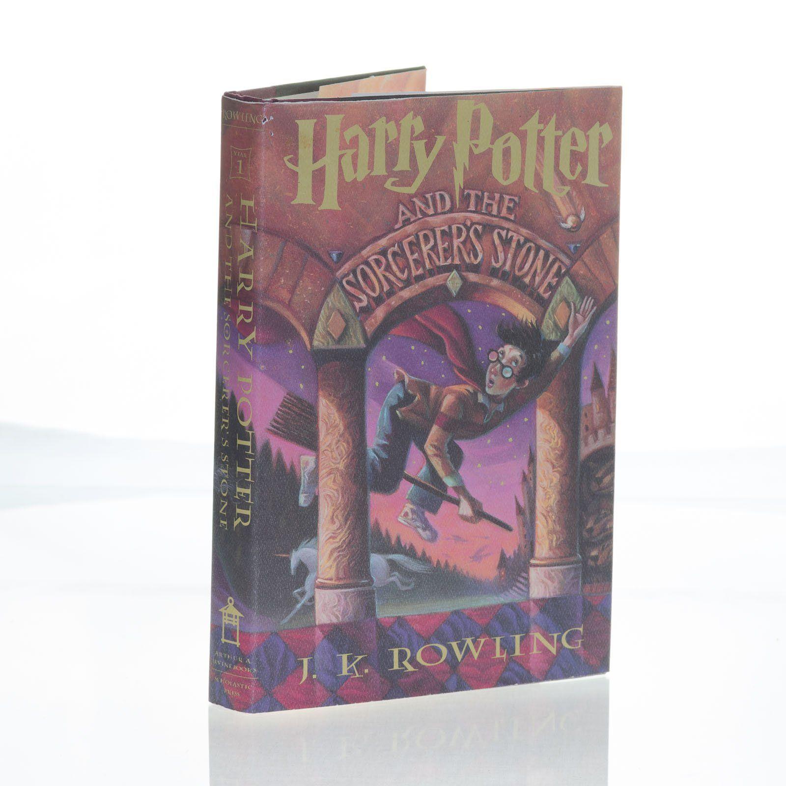 Harry Potter Sorcerer S Stone Jk Rowling Hardcover Book 1st