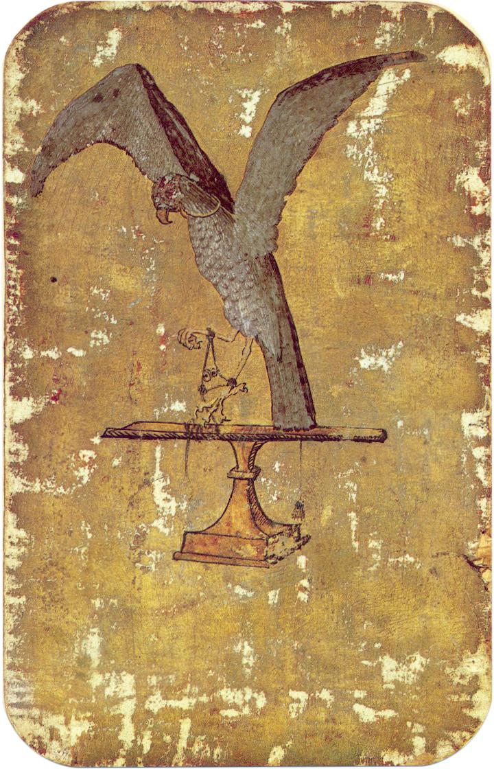 1 - Stuttgart playing cards, ca. 1430
