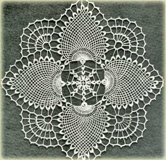 Free doily crochet patterns and vintage doilies. | Crochet para ...