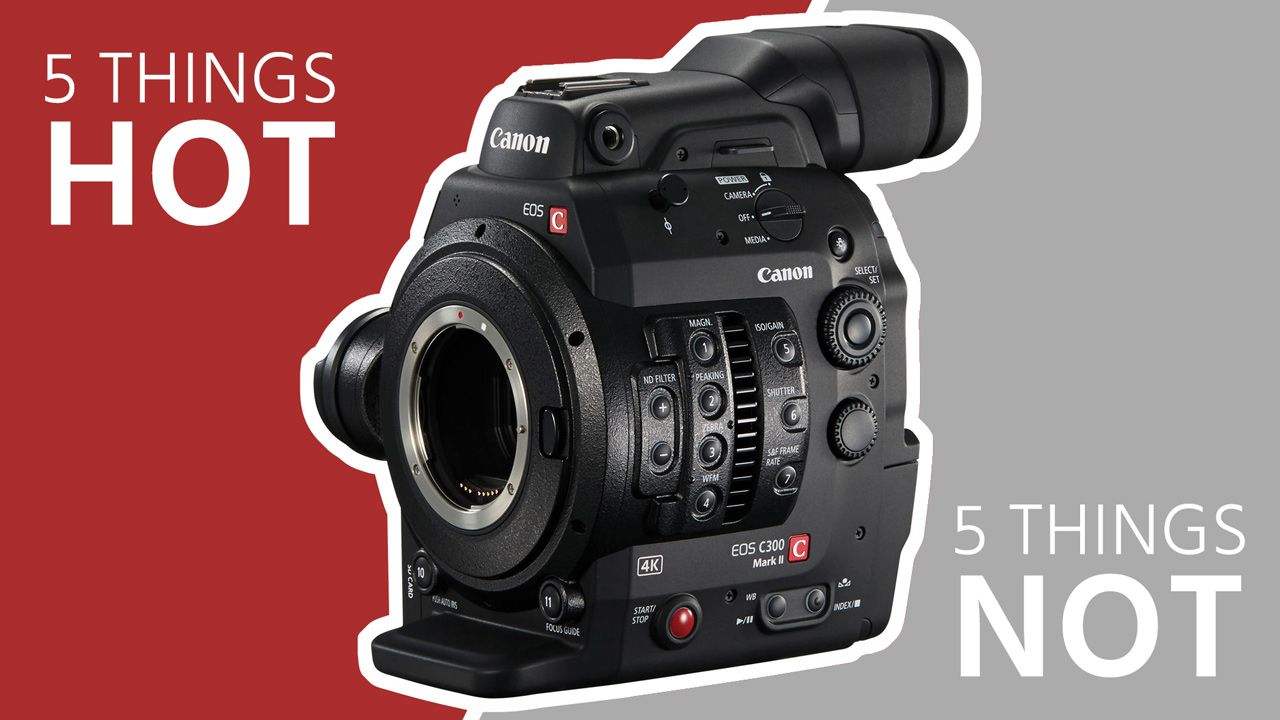 5 Things Hot & 5 Things Not on the Canon C300 Mark II | Technology