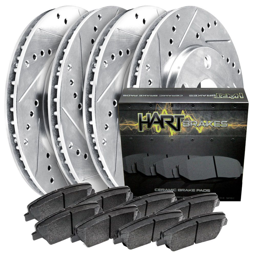 Fits 20052012 pathfinder full kit hart drilled slotted
