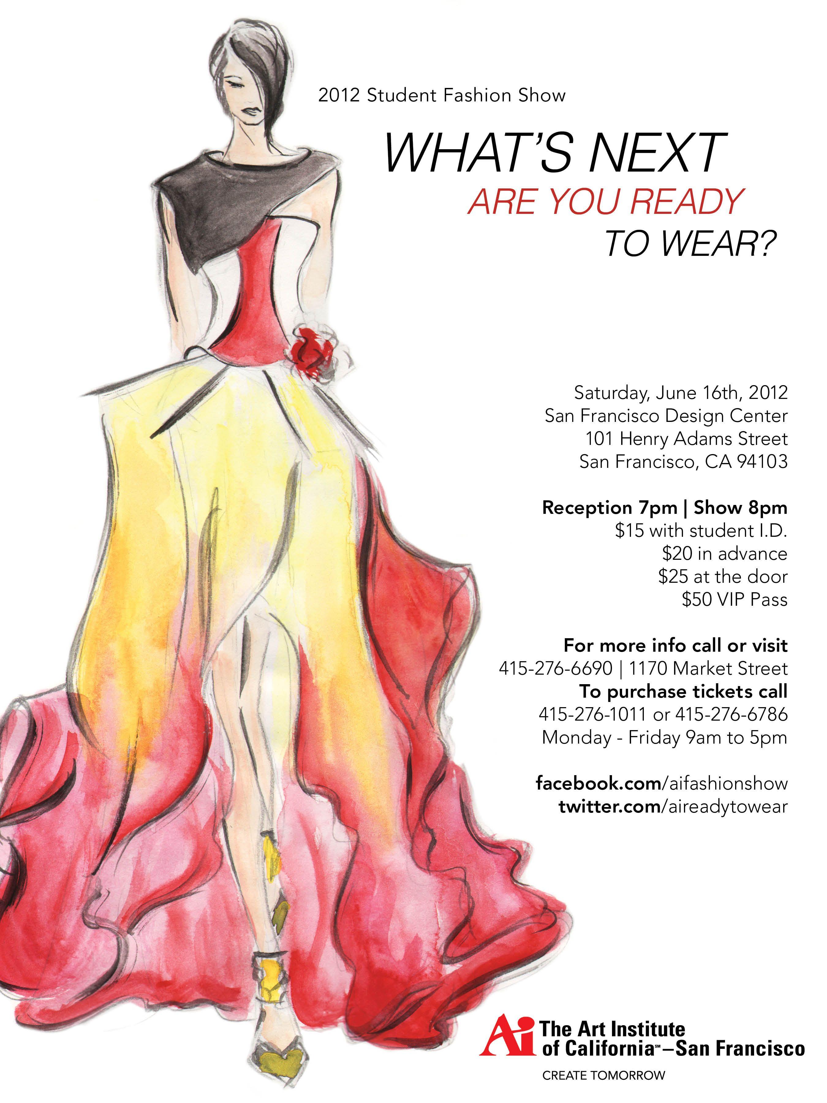 Art Institute Of California San Francisco Fashion Show 2012 San Francisco Art Student Fashion Francisco