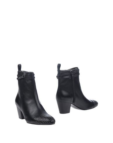 VERSACE JEANS Women's Ankle boots Black 7 US