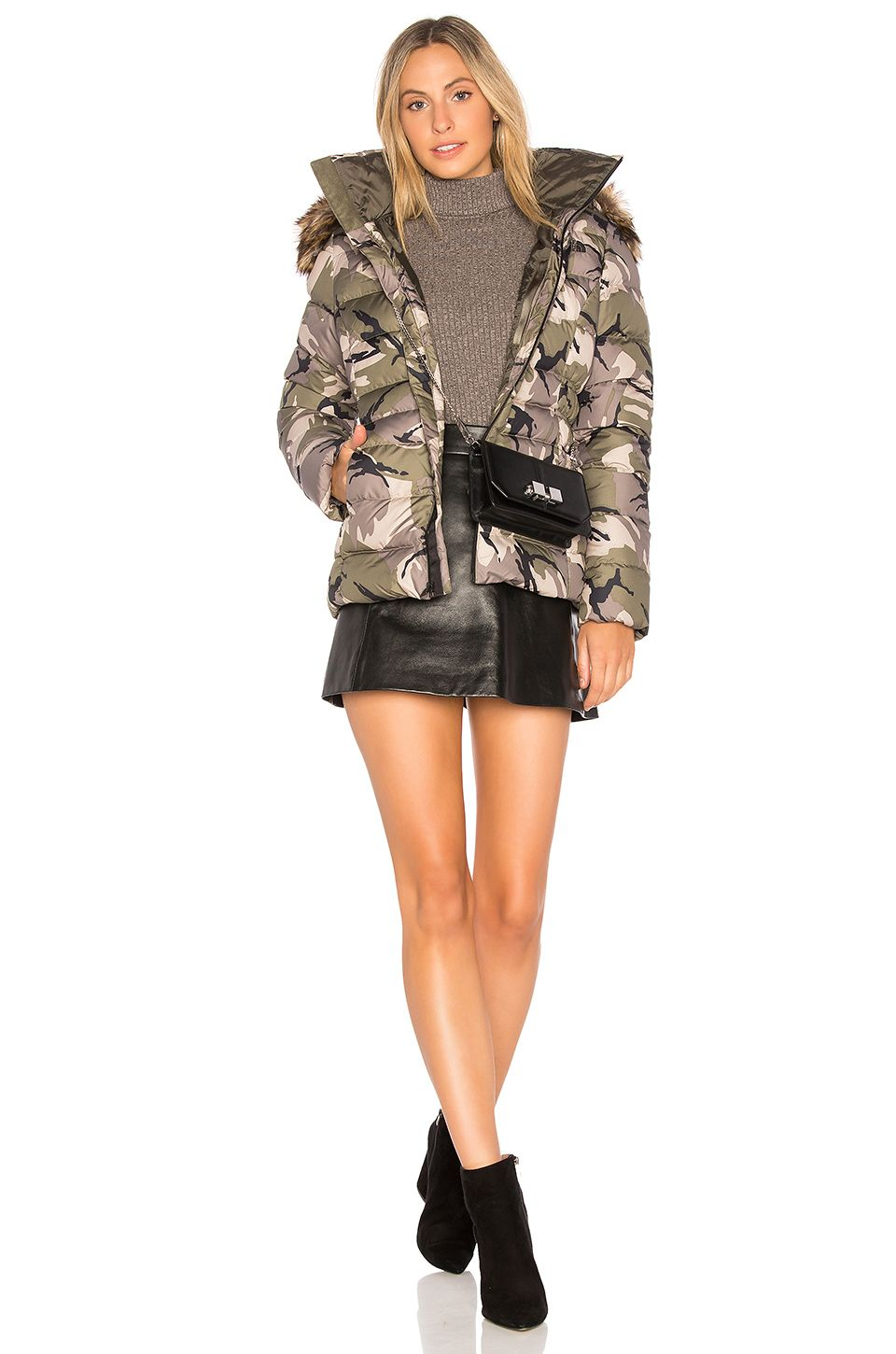 The North Face Gotham Jacket Ii In Burnt Olive Green Disrupt Camo Revolve Jackets Clothes For Women Clothes Design [ 1450 x 960 Pixel ]