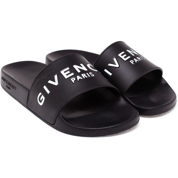 Givenchy Paris Givenchy Pantoufle A Rencontré Logo w3Qqt
