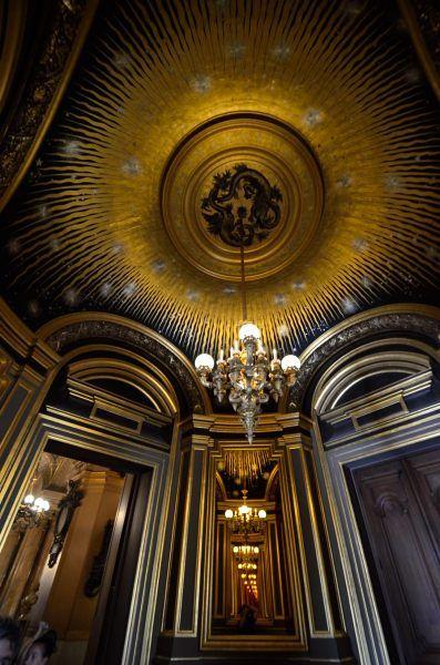 Palais Garnier Paris Opera House Salon Du Soleil