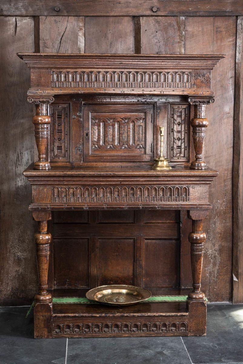 Elizabeth I Oak Carved Livery Cupboard Marhamchurch Antiques Antiques Gothic Furniture Oak
