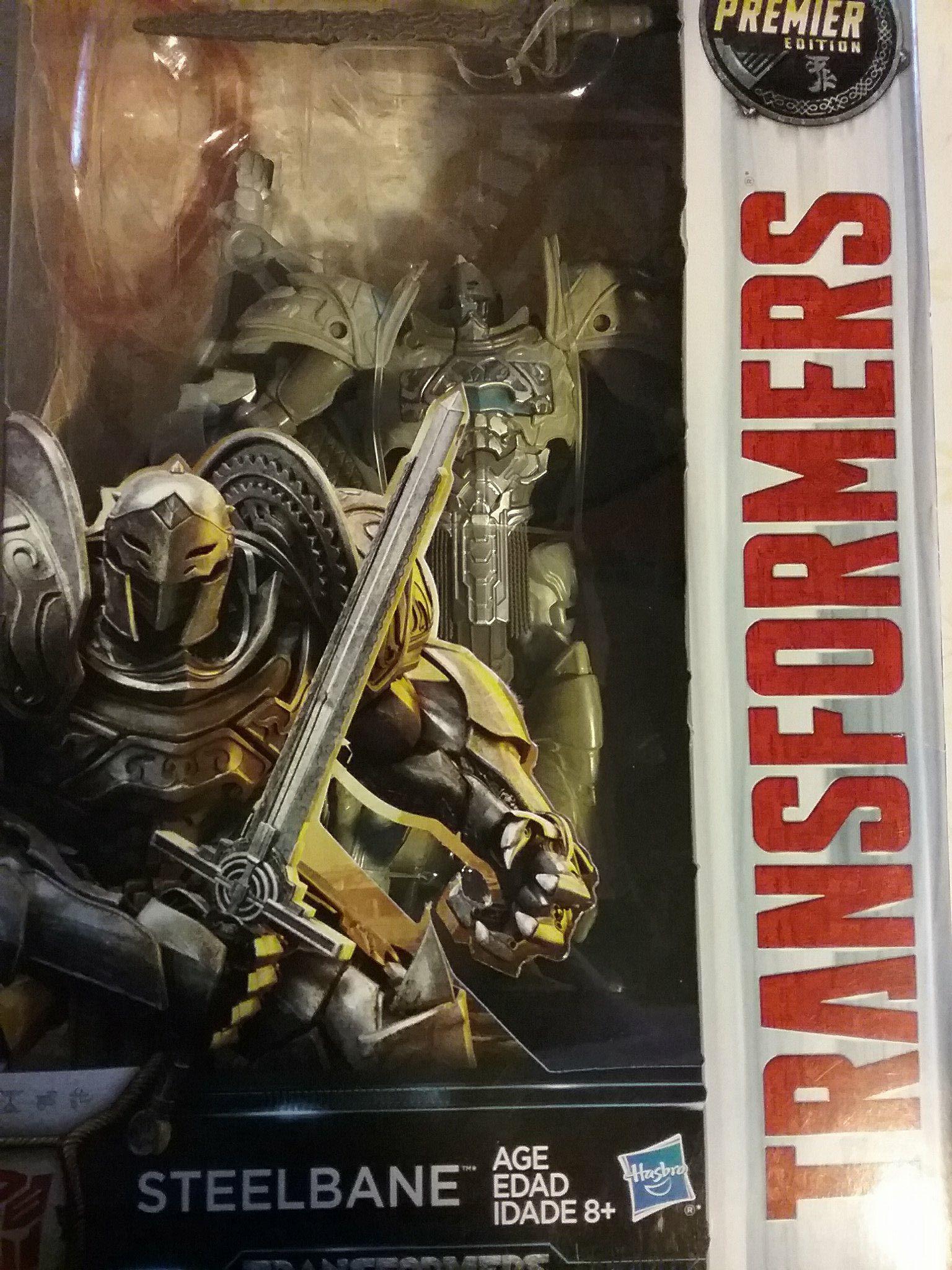 Premier Edition Transformers The Last Knight Steelbane 17
