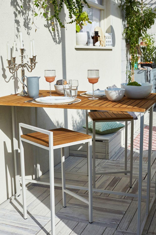 Idee Amenagement Deco Jardin Tout Pour Une Belle Terrasse Coin Repas Mange Debout Exterieur Et Mobilier De Salon