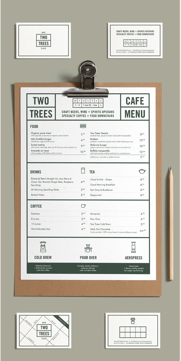Modern menu design … | slices |…