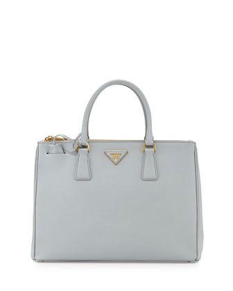 30d79e64cf89 Saffiano Lux Double-Zip Tote Bag