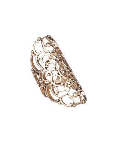 Another great find on #zulily! Gold Twist Statement Ring #zulilyfinds