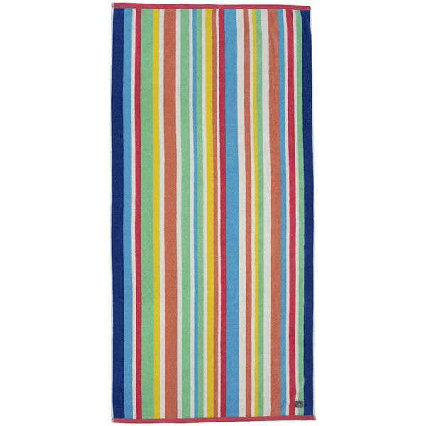 Gant Candy Stripe Beach Towel 100x180cm Bright Magenta 46