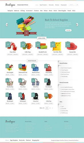 boutique-wordpress-theme WordPress Blog & Magazine Themes ...