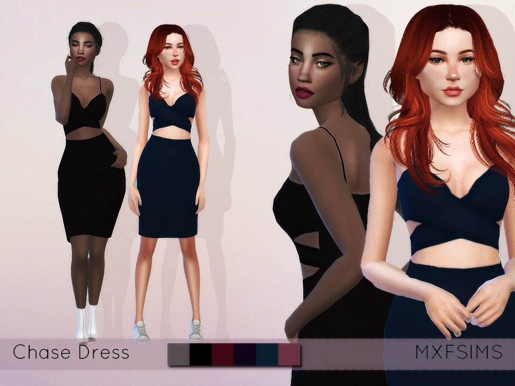 Nonaaa Sims — mxfsims:  Chase Dress   New item   Comes in 6...