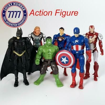 Single Marvel Avengers Endgame Big size Batman Collection Series Hulk IronMan
