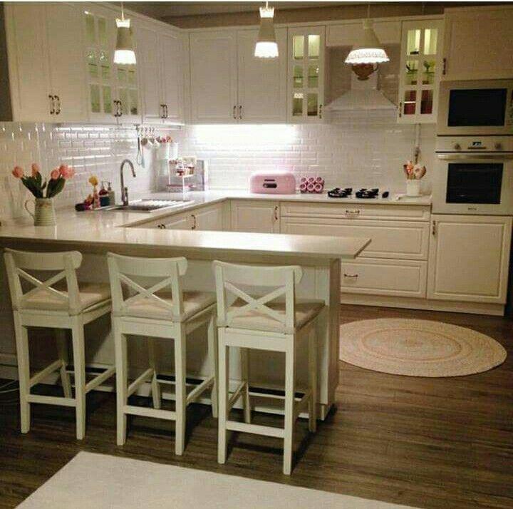Narrow breakfast bar Lights! (Ikea?) | Home & Decorating Ideas in ...