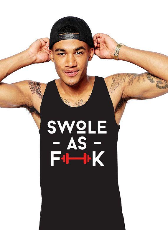 b26986b78ca51 Swole Shirt - Get Swole - Swole Tank - Gym Tank - Swole As F ck ...