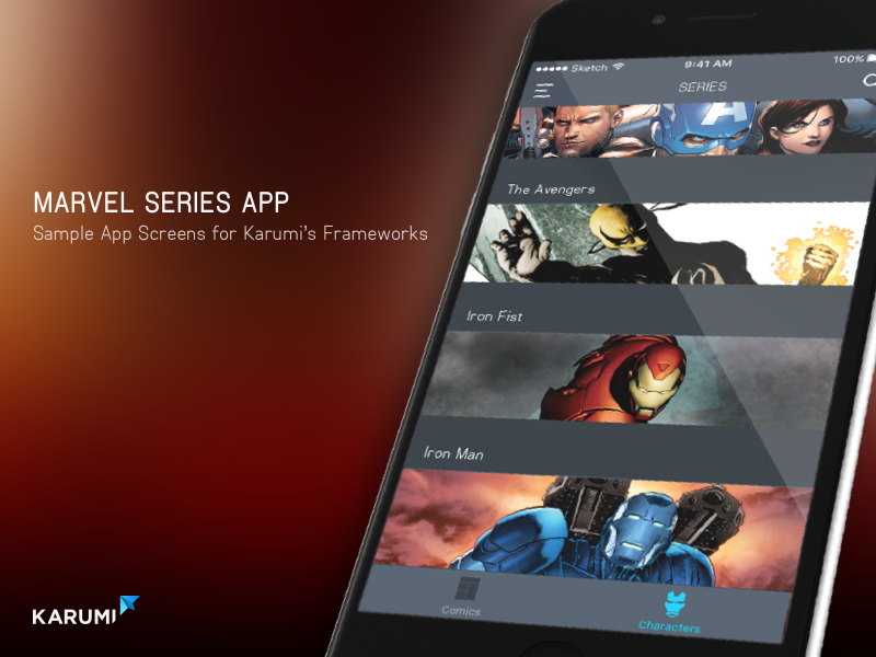 Marvel App Marvel App Marvel App