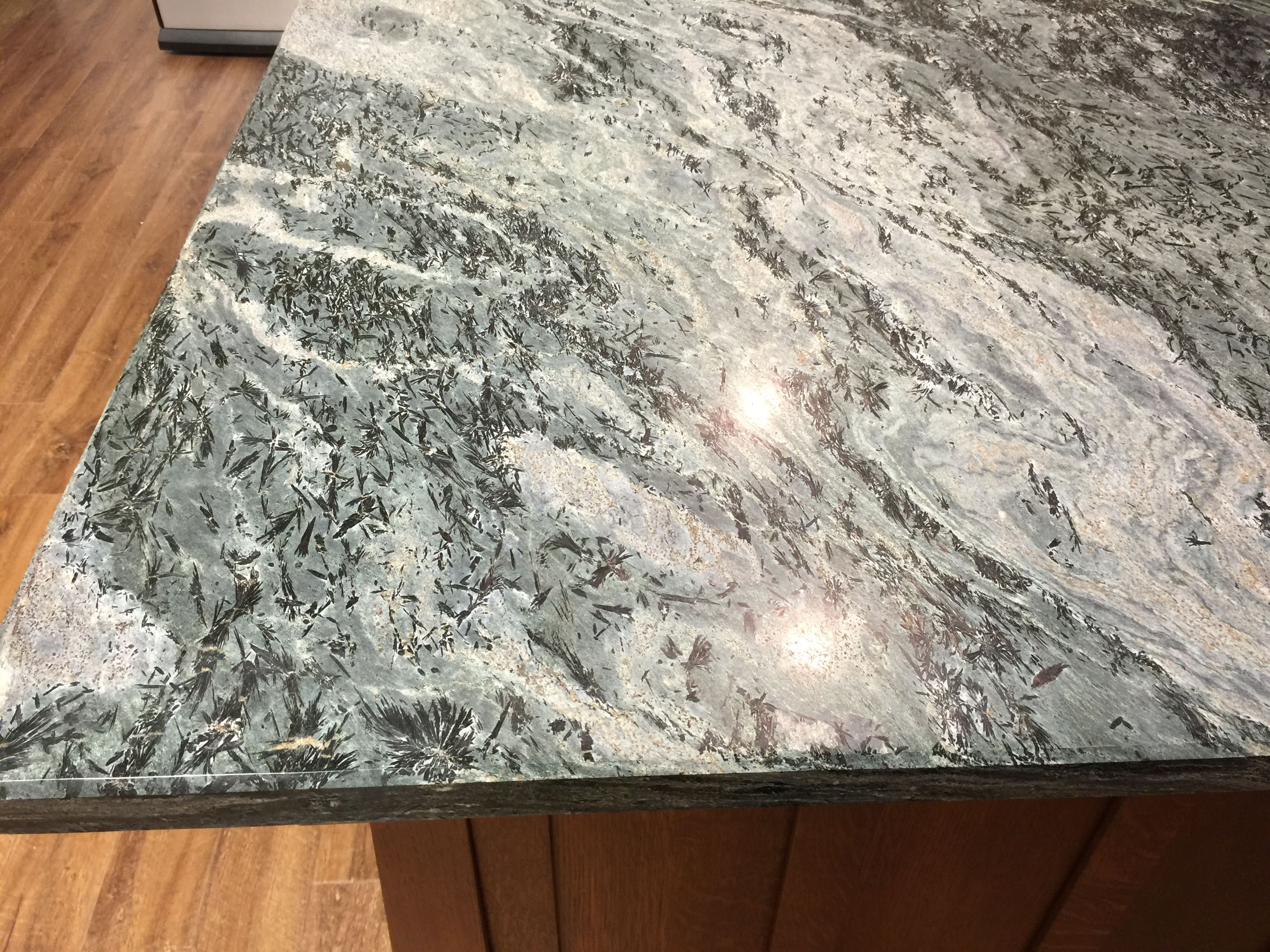 Ashfield Stone Crowsfoot Schist Countertop At Crownpoint Showroom Claremont Nh New Kitchen Granite