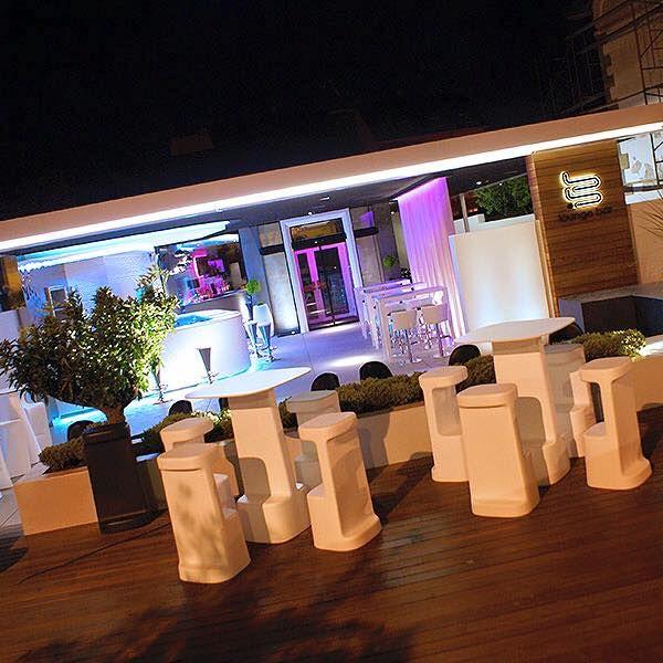 Vista Exterior Bb Lounge Bar Proyectos Contract Pinterest Proyectos Vivero Y Costero