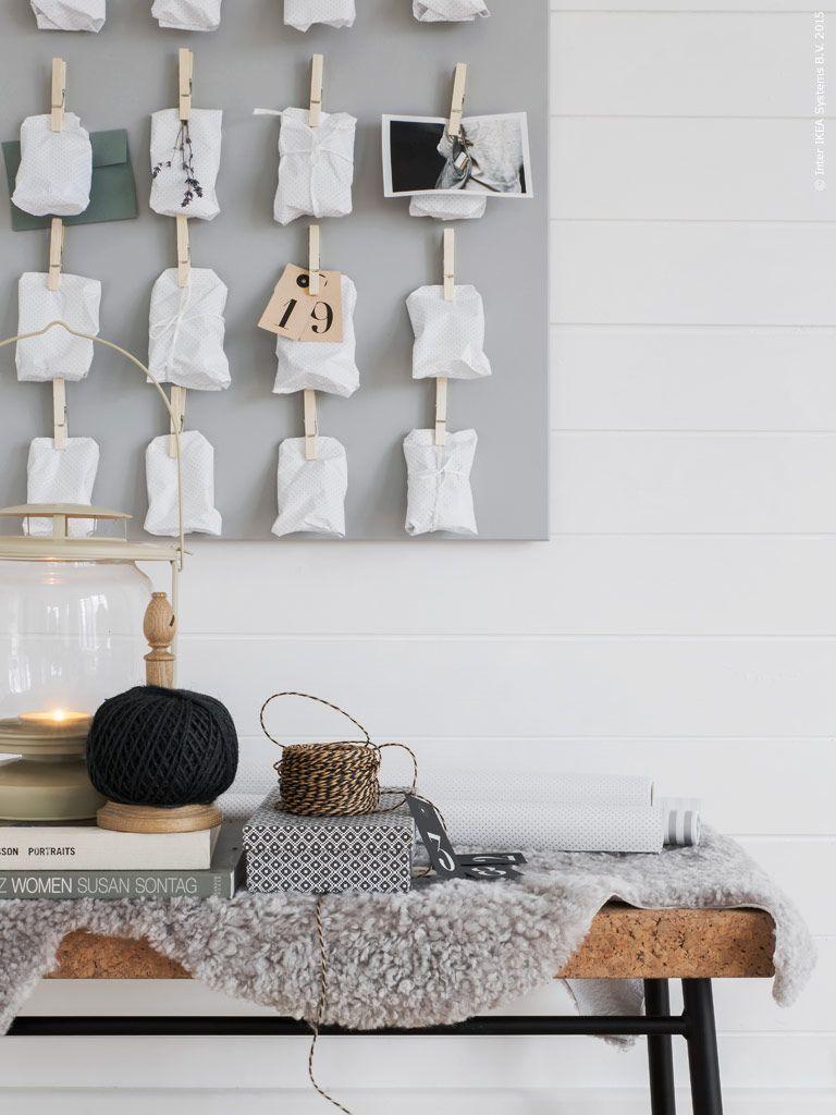 ikea diy adventskalender inspiration 1 adventskalender pinterest adventskalender advent. Black Bedroom Furniture Sets. Home Design Ideas