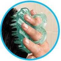 Scalp Brush Benefits Simple Scalp Massage For Beautiful Hair Scalp Brushing Scalp Massage Shampoo Brush