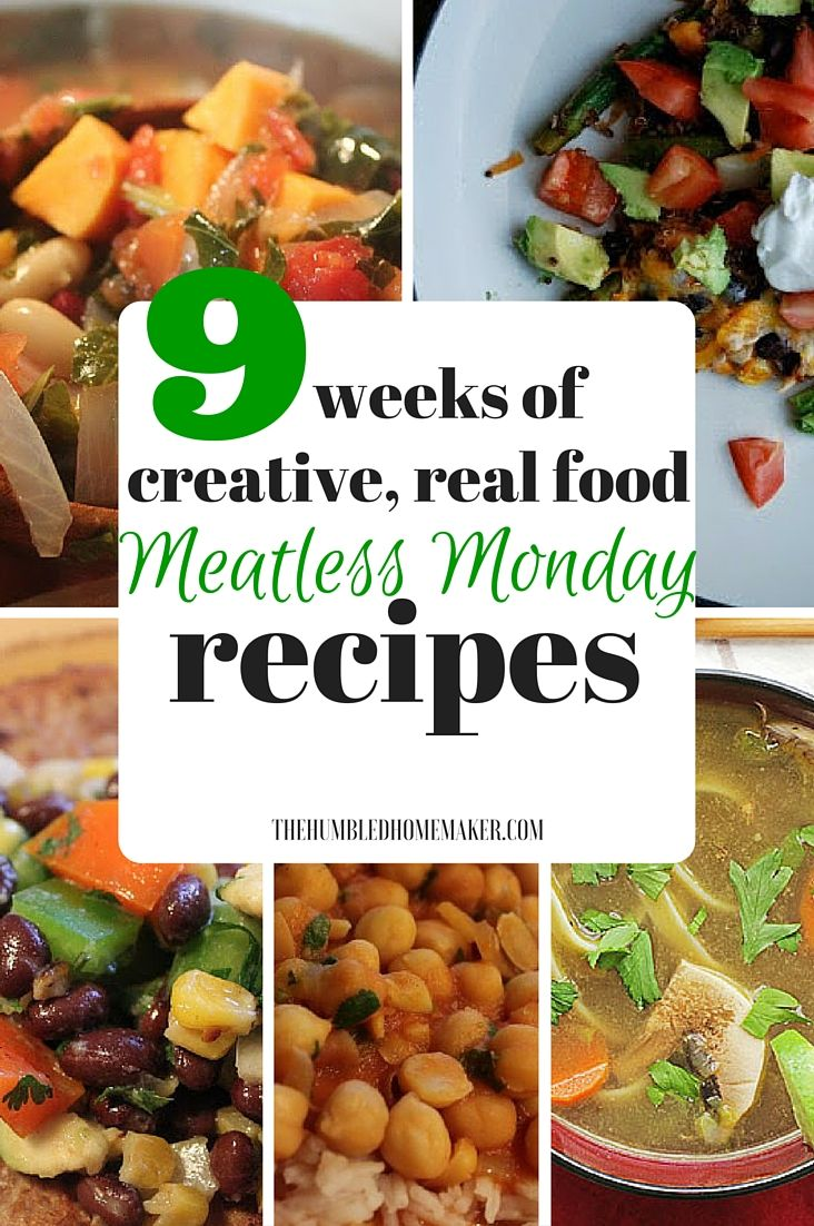 9 weeks of creative real food meatless monday recipes meatless 9 weeks of creative real food meatless monday recipes meatless monday meal ideas and mondays forumfinder Gallery