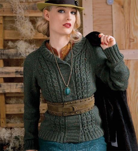 Looking for your next project? You're going to love Forestry Cardigan [VKF08_11] by designer Vogue Knitting. - via @Craftsy