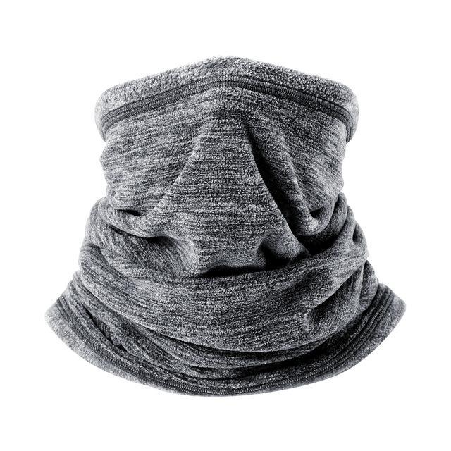 23726db45 Cold Weather Polar Fleece Wool Thermal Neck Gaiter Tube Warmer Half ...